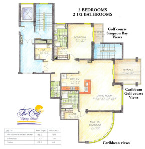 Corner two bedroom suite